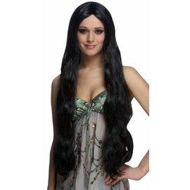 Costume Culture by Franco American Atlantis Wig - Black