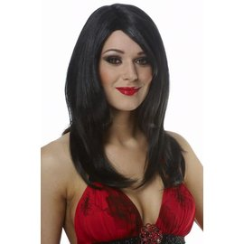 Costume Culture by Franco American Sharon Wig - Black