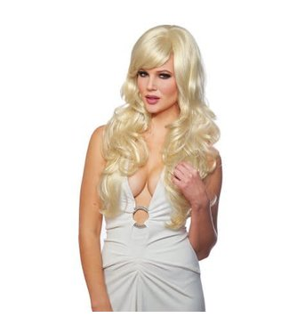 Costume Culture by Franco American Delovely Wig - Blonde