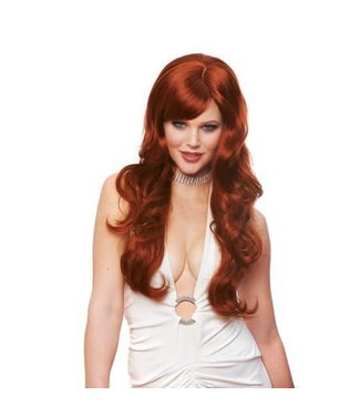 Costume Culture by Franco American Delovely Wig - Natural Red