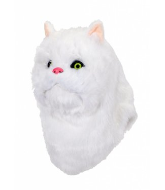 Elope White Cat Mouth Mover Mask by Elope