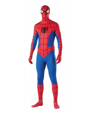 Rubies Costume Company 2nd Skin Spider-Man, Comic - Medium