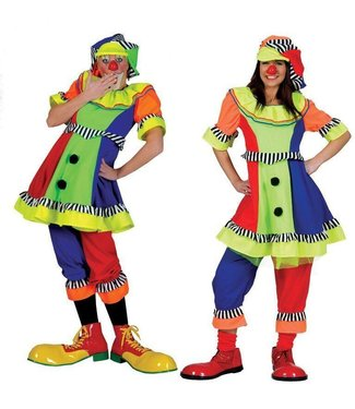 Funny Fashion Clown Olivia - Adult Large