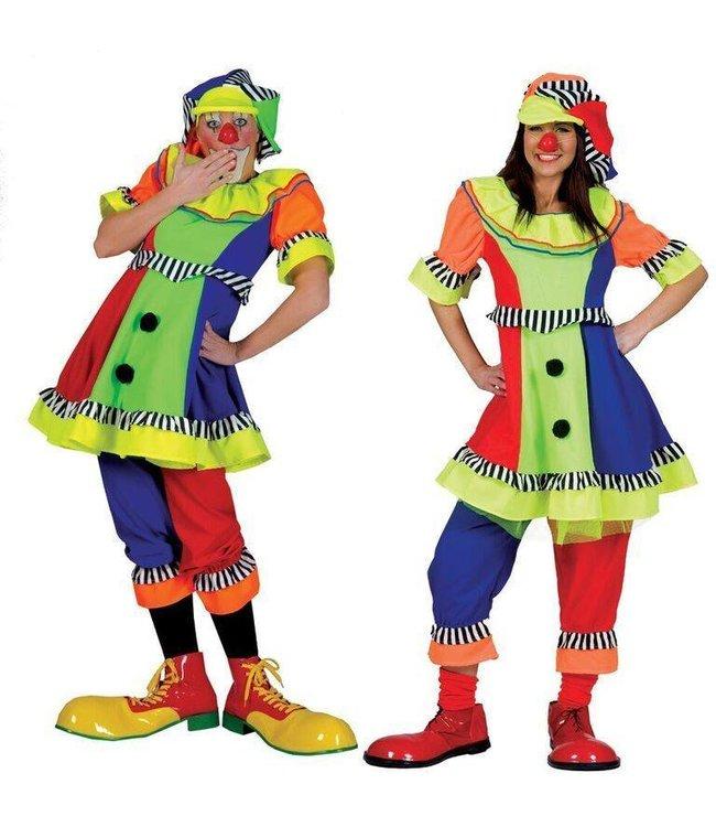 Funny Fashion Clown Olivia - Adult Large