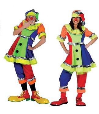 Funny Fashion Clown Olivia - Adult Small