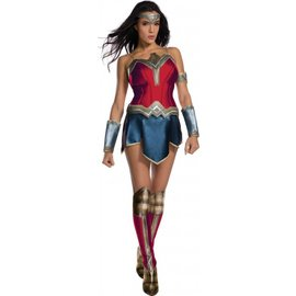 Rubies Costume Company Wonder Woman, Secret Wishes Large 10-14