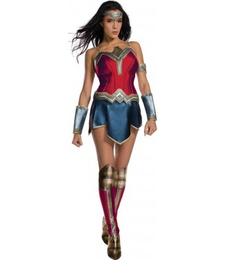 Rubies Costume Company Wonder Woman, Secret Wishes Large 10-14