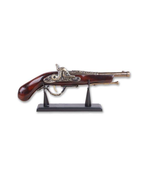 "Decorative Gun, Pirate Pistol - 14 1/2"""