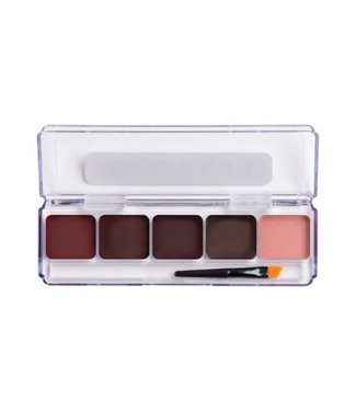 European Body Art Encore SLIM Alcohol Palette - Blood Edition