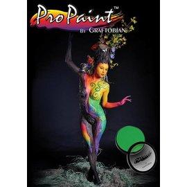 Graftobian Make-Up Company Pro Paint - Neon Radioactive, Green (Hair and Nails) 1 oz (28gm)