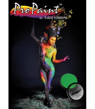 Graftobian Make-Up Company Pro Paint - Neon Radioactive, Green (Hair and Nails) 1 oz (28gm)