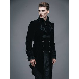 Devil Fashion Vintage Gothic Swallowtail Jacket - XL by Devil Fashion (/391)