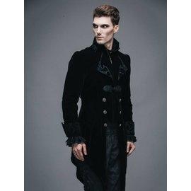 Vintage Gothic Swallowtail Jacket - XL by Devil Fashion (/391)