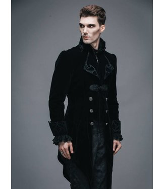 Vintage Gothic Swallowtail Jacket - XL by Devil Fashion (/391)