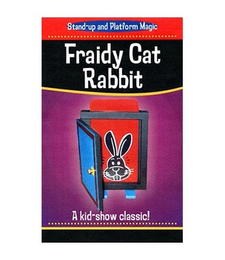 Fraidy Cat Rabbit by Trickmaster Magic