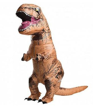Rubies Costume Company Inflatable Adult T-Rex Costume - Adult Standard 44