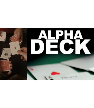 Alpha Deck - Cards and Online Instructions by Richard Sanders from Sanders F/X