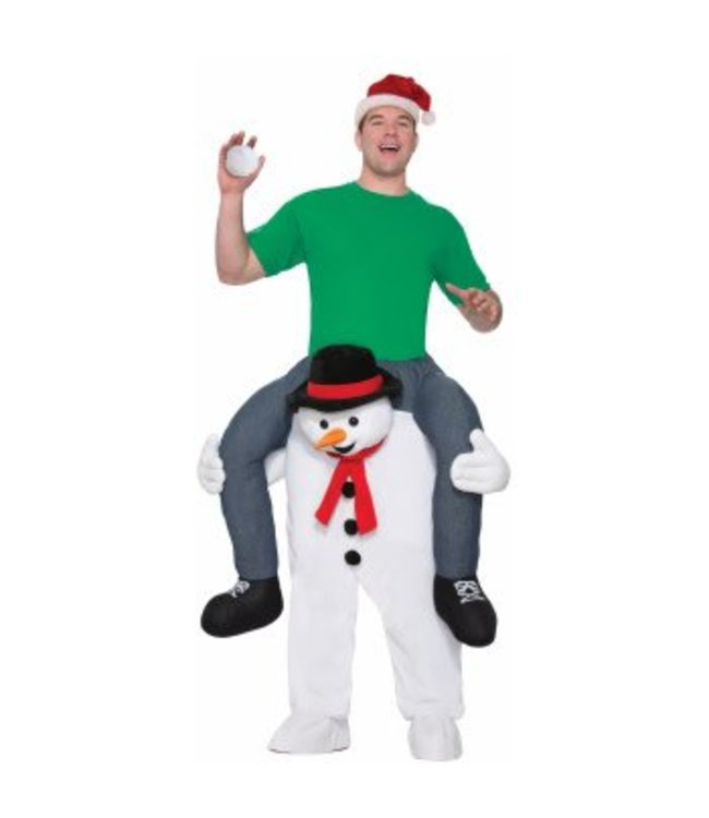 Forum Novelties Cold Shoulders Riding Snowman - Adult One Size by Forum Novelties