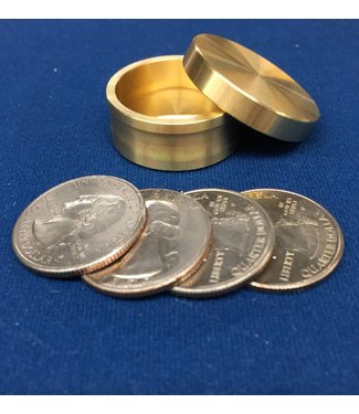 Ronjo Okito Box Slot Quarter 4 Coin, Beveled - By Ronjo