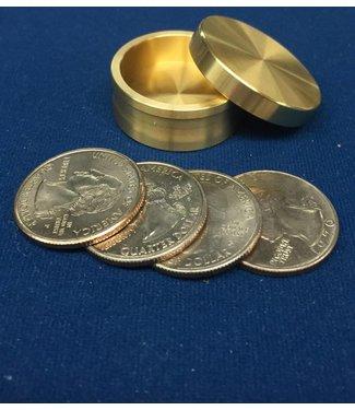 Ronjo Okito Box Boston Quarter 4 Coin, Beveled - By Ronjo