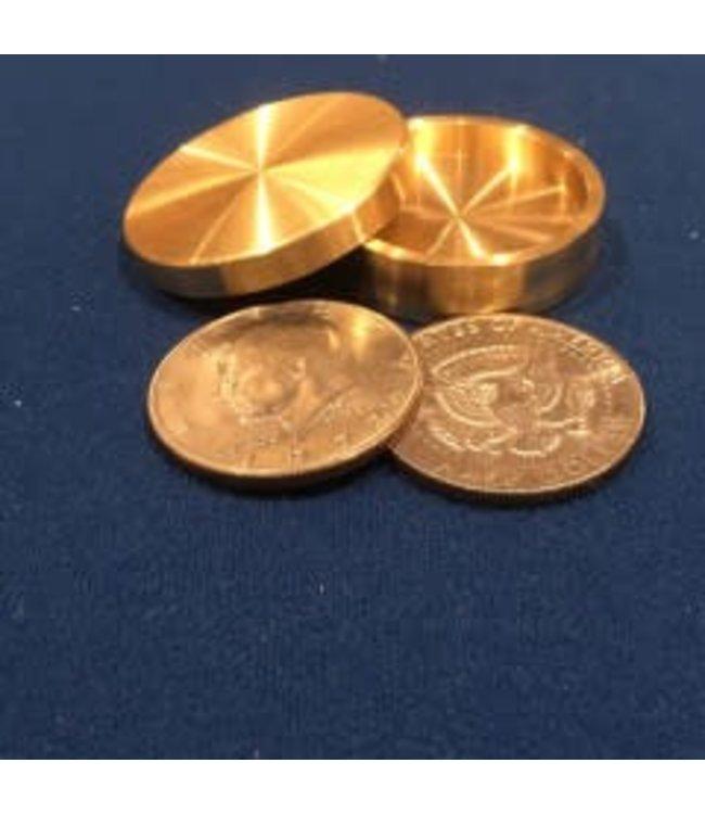 Ronjo Okito Box Half Dollar Sleek 3 Coin Beveled by Ronjo – Coin