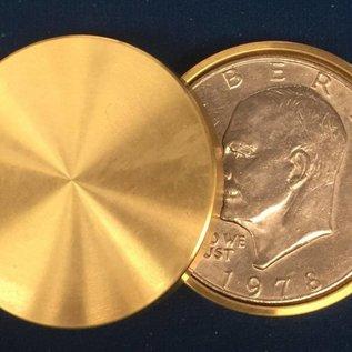 Ronjo Okito Box Double Boston Silver Dollar Sleek 1 Coin by Gary Brown