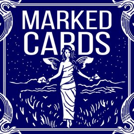 United States Playing Card Company Marked Cards - Blue Bicycle Maiden Back by Penguin Magic