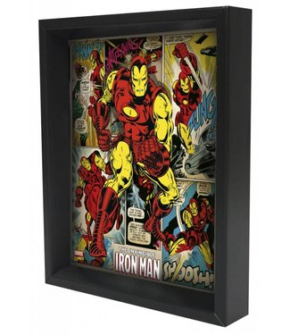 Shadowbox - Iron Man – Panels by Pyramid America