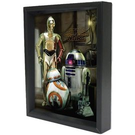 Shadowbox - Star Wars – TFA – Droids by Pyramid America