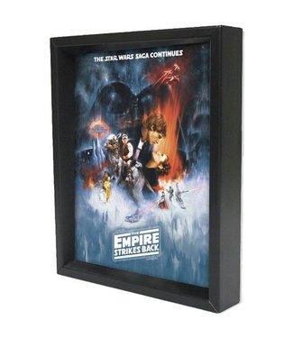 Shadowbox - Star Wars - Empire Strikes Back by Pyramid America