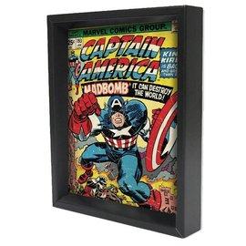 Pyramid America Shadowbox - Captain America – #193 by Pyramid America