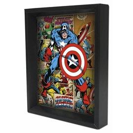 Pyramid America Shadowbox - Captain America – Panels by Pyramid America