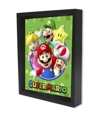 Shadowbox - Super Mario - Cast by Pyramid America