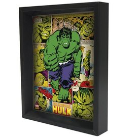 Shadowbox - Hulk – Panels by Pyramid America