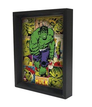 Shadowbox - Hulk – Panels by Pyramid America