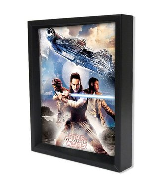 Shadowbox - Star Wars – TLJ – Trio by Pyramid America