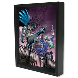 Shadowbox - Batman – Joker vs Batman by Pyramid America