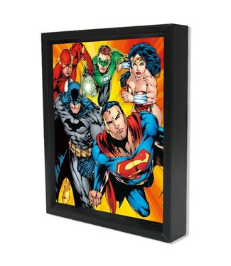 Shadowbox - DC - Justice League - Heroes by Pyramid America