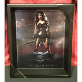 Shadowbox - Batman v Super – DOJ – Wonder Woman by Pyramid America
