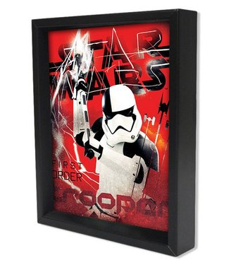 Shadowbox – Star Wars Stormtrooper 1st Order by Pyramid America