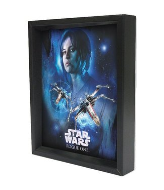 Shadowbox – Star Wars Rogue One – Jyn Space by Pyramid America