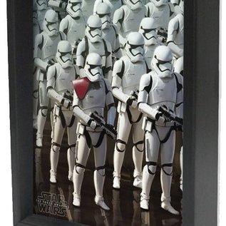 Shadowbox - Star Wars - Stormtooper Army TFA by Pyramid America