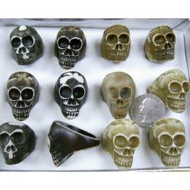 Ring, Skull - Bone (assorted)