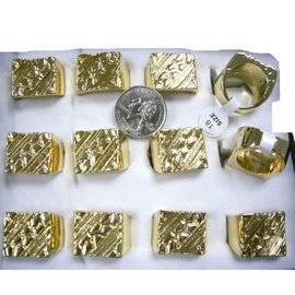 Ring, Gold Nugget  (Assorted Sizes)