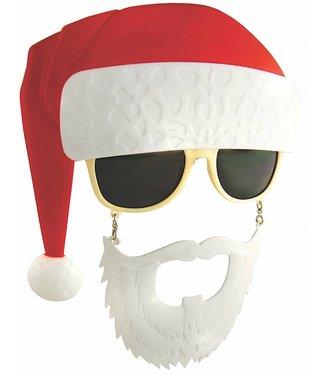Sun-Staches Sunglasses Santa Claus Sunstaches