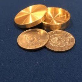 Ronjo Okito Box Boston Half Dollar Sleek 2 Coin Beveled by Ronjo