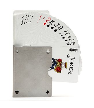 Card Guard - Stainless, Perforated by Bazar de Magia