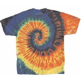 Tie Dye T-Shirt Large by Flashback And Freedom Inc