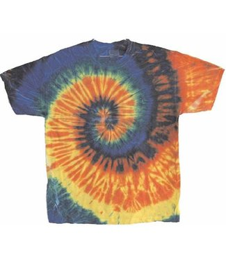 Tie Dye T-Shirt 2X by Flashback And Freedom Inc
