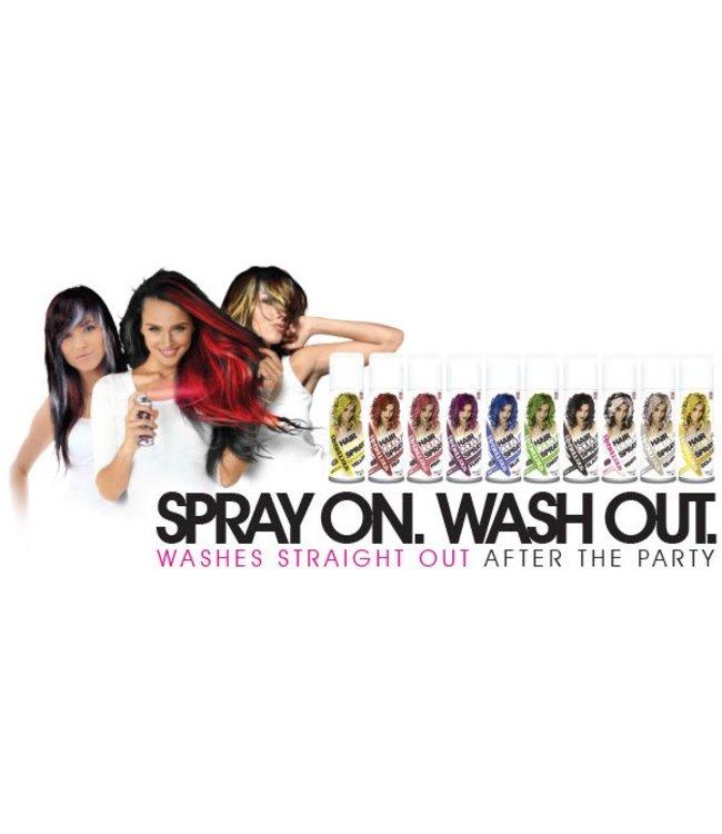 Graftobian Make-Up Company Black Hair Spray Color